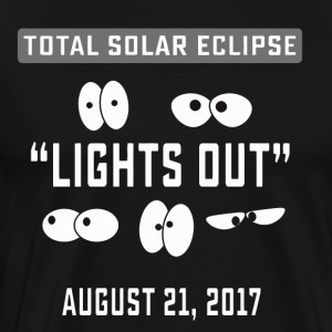 Total Solar Eclipse Lights Out Charleston - Men's Premium T-Shirt