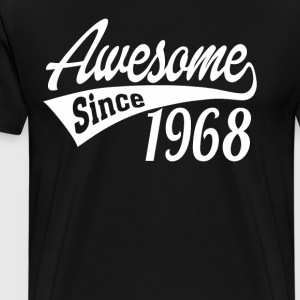 Awesome Since 1968 - Men's Premium T-Shirt