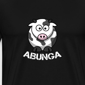 Cow-Abunga - Men's Premium T-Shirt