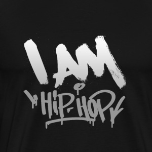 I AM HIP HOP SHIRT - Men's Premium T-Shirt