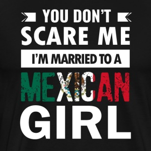 Mexican Girl designs - Men's Premium T-Shirt