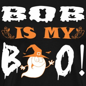 Bob Is My Boo Happy Halloween - Men's Premium T-Shirt