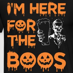 Im Here For The Boos Halloween - Men's Premium T-Shirt