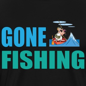 Gone Fishing No 2 - Men's Premium T-Shirt