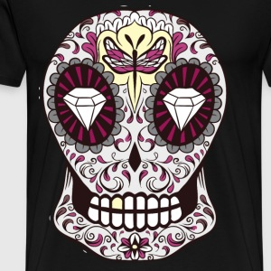 sugar skull dragonfly - Men's Premium T-Shirt