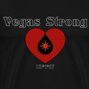 vegas strong - Men's Premium T-Shirt