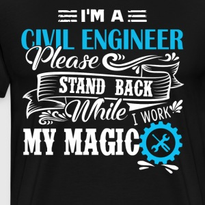 Civil Engineer T Shirt - Men's Premium T-Shirt