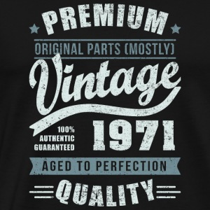 Birthday 1971 Aged to perfection - Men's Premium T-Shirt