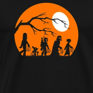 Star Wars Trick Or Treat Halloween Shirt - Men's Premium T-Shirt