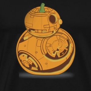 Star Wars BB 8 Pumpkin Carving Halloween Graphic - Men's Premium T-Shirt