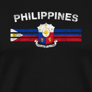 Filipino Flag Shirt - Filipino Emblem & Philippine - Men's Premium T-Shirt