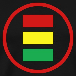 everybody logo jamaica - Men's Premium T-Shirt