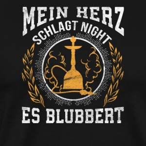 Mein Herz Schlagt night Es Blubbert - Men's Premium T-Shirt