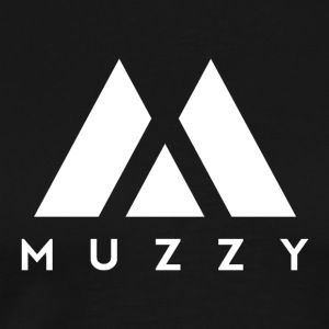 MUZZY Offical Logo White - Men's Premium T-Shirt
