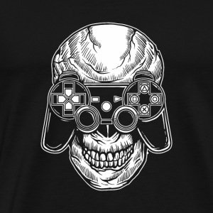Skull Gamers. Gaming till the end. - Men's Premium T-Shirt