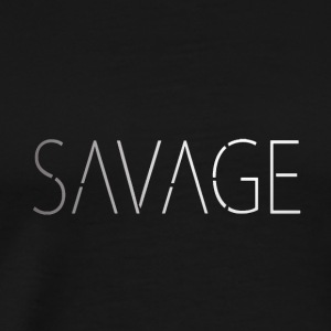 Savagewhite - Men's Premium T-Shirt