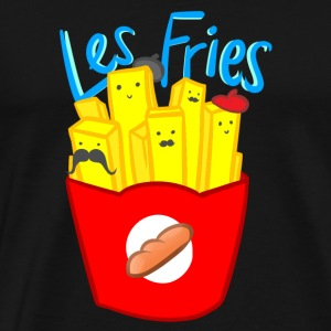 Les Fries - Men's Premium T-Shirt