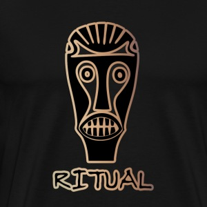 Ritual #2 (Gold & Black) - Men's Premium T-Shirt