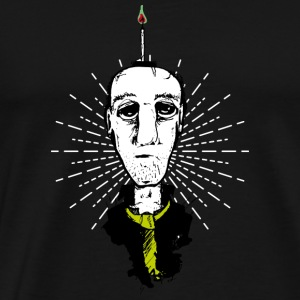 candle light man - Men's Premium T-Shirt