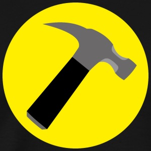 anyone can be captain hammer - Men's Premium T-Shirt