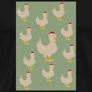 chicken - Men's Premium T-Shirt