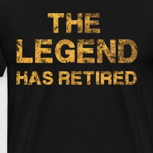 The Legend Has Retired T-Shirt - Men's Premium T-Shirt