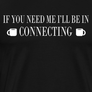 Connecting - Men's Premium T-Shirt