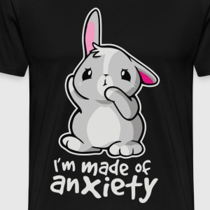 Rabbit Anxiety Cyber System - Men's Premium T-Shirt