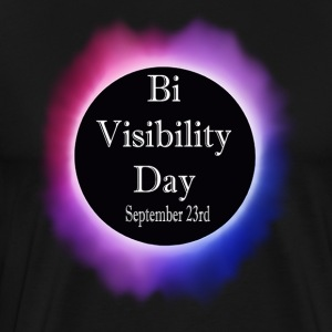 Bi Visibility Day Eclipse Totality Shirt - Men's Premium T-Shirt
