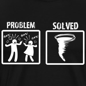 Problem Solved Storm Chasing - Men's Premium T-Shirt