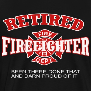 Retired firefighter - Men's Premium T-Shirt