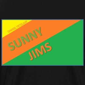 Sunny Jims YouTube Shirt Hoodie (Official) - Men's Premium T-Shirt