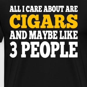Cigars T Shirt - Men's Premium T-Shirt