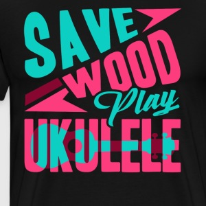 Play Ukulele Shirts - Men's Premium T-Shirt