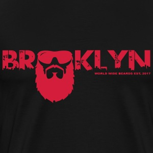 Brooklyn Skyline - Men's Premium T-Shirt