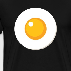 Fried Egg T-Shirt - Sunny Side Up Egg T-Shirt - Men's Premium T-Shirt
