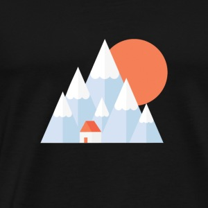 Snow Valley - Men's Premium T-Shirt