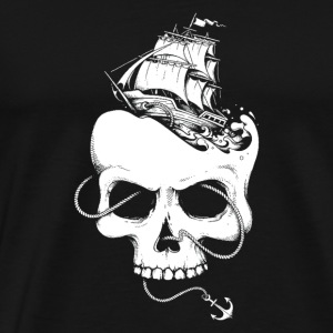 Sailing the Dead Sea - Men's Premium T-Shirt