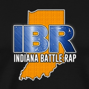 IBR (INDIANA BATTLE RAP) LOGO - Men's Premium T-Shirt