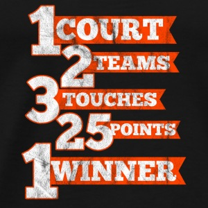 Facts about volleyball - Men's Premium T-Shirt