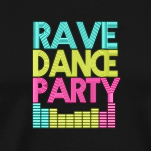 Rave Dance Party - Men's Premium T-Shirt