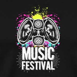 Music Festival Funky - Men's Premium T-Shirt