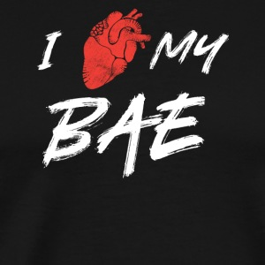 I love my bae - Men's Premium T-Shirt