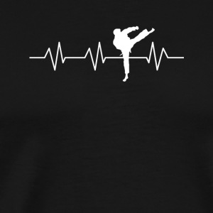 Heartbeat for Taekwondo - Men's Premium T-Shirt