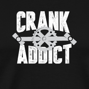Biker - Crank Addict - Men's Premium T-Shirt