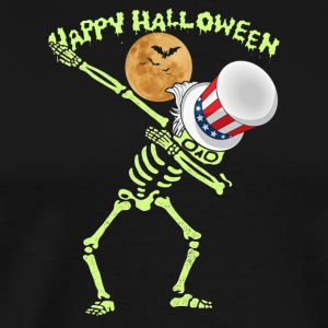 HALLOWEEN - FUN DABBING VETERAN - Men's Premium T-Shirt