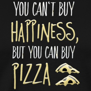 Cant buy happiness but pizza - Men's Premium T-Shirt