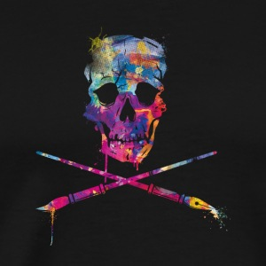 Art Skull RMX - Men's Premium T-Shirt