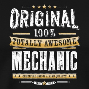 Original Totally Awesome Mechanic Profession Tee - Men's Premium T-Shirt
