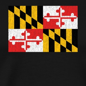 Maryland Flag - Men's Premium T-Shirt
